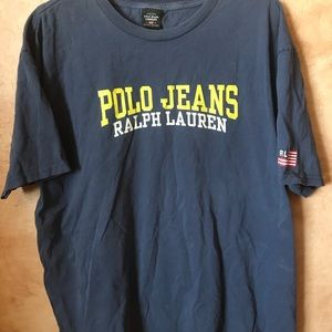 Polo Jeans Ralph Lauren shirt Mens Size XL